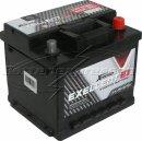 Billigt bilbatteri 12V 50 Ah (E1) Amerikanska - Extreme Excellent DIN: 545412040