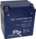 MC-batteri GEL 30 Ah YGZ30HL-BS YG30L-BS Extreme Poweroad SP7 Harley Davidsson 6610-97B