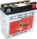 MC-batteri 5,5 Ah 12N5,5-3B 50611 Banner vätska 50611