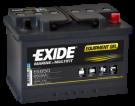 Fritidsbatteri 56Ah GEL Tudor Exide GEL ES650