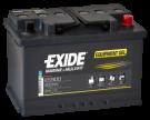 Fritidsbatteri 80Ah GEL Tudor Exide GEL ES900