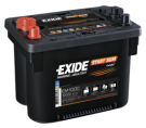 Startbatteri 50Ah AGM Tudor Exide EM1000 AGM Orbital teknologi