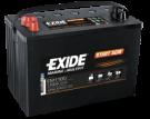 Startbatteri 100Ah AGM Tudor Exide EM1100 AGM Orbital teknologi