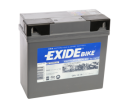 Tudor Exide MC-Batteri 19Ah GEL 80019 12Y16A-3A 12Y16A-3B DIN51814 DIN51913