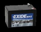 Tudor Exide MC batteri 12Ah AGM 12-12 4924