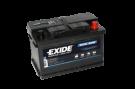Fritidsbatteri 70Ah AGM Dual Tudor Exide EP600