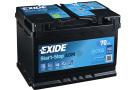 Startbatteri 70Ah AGM Tudor Exide EK700