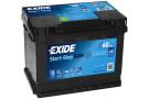 Startbatteri 60Ah AGM Tudor Exide EK600
