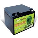 Lithium-Ion batteri(LiFePO4) 12,8V/25Ah med PCM