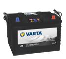 Bilbatteri 12V 135 Ah Varta J8 PRO black VP135 635042068