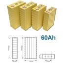 Lithium-Ion batteri(LiFePO4) 3,2V 60Ah. LFP060 TS-LFP060AHA ,TS-LYP060AHA