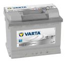 Startbatteri 12V 63Ah Varta Silver Dynamic D39 563401061