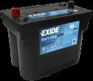 Startbatteri 50Ah AGM Tudor EK508  Exide TK508
