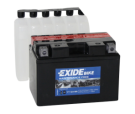 Tudor Exide MC batteri 9,5Ah AGM YT12A-BS  4905