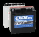Tudor Exide MC batteri 12Ah AGM YT14B-BS 4907