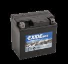 Tudor Exide MC batteri 4Ah AGM12-5 4910 YTX5L-BS
