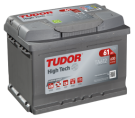 Startbatteri 61Ah Tudor Exide TA612 High Tech