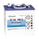 Truckbatteri Rörcellsbatteri Tudor Exide 6V 180Ah FT06180-2 hela 900 cykler Marathon Classic