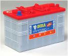 Rörcellsbatteri truckbatteri NBA 12V 110Ah/5h 150Ah/20h 4TG12NH. Hela 1200 cykler