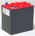 Rörcellsbatteri truckbatteri NBA 6V 200Ah/5h 265Ah/20h POWER PLUS. Hela 1200 cykler