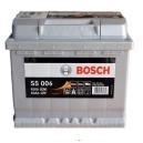Bilbatteri 12V 63 Ah Bosch S5006 DIN: 563401061