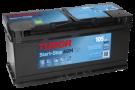 Startbatteri 105Ah Tudor START-STOP AGM TK1050