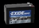 Tudor Exide MC batteri 7Ah AGM12-7F 4923