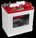 Deep-cycle batteri 6V 240 Ah TUDOR EXIDE motsvarar TROJAN T-125.